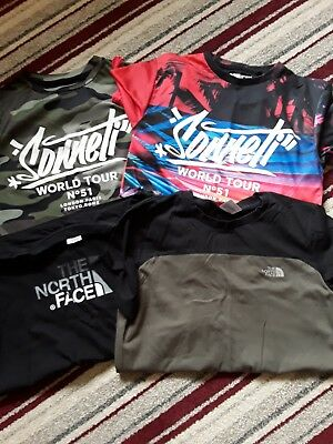 Boys T-shirt Sonetti and North Face bundle  size 12-13 and LB