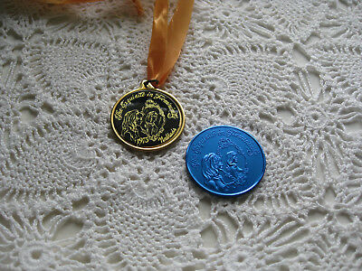 New Orleans Carnival  Krewe of Noblads '73  Mardi Gras medallion + doubloon