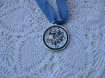 Carnival  Krewe Mardi Gras medallion-1982-25th Anniversary That's Entertainment