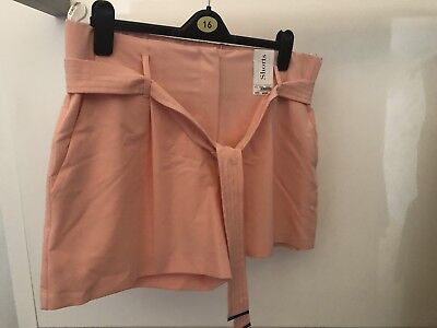 dorothy perkins 16 Shorts Peach