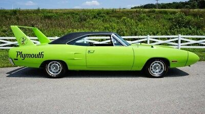Superbird -ONLY 51,800 ORIGINAL MILES-DECODED AND REGISTERED 1970 Plymouth Superbird for sale!