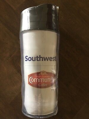 Rare Southwest Airlines  Community Coffee SWA Travel Mug / Tumbler