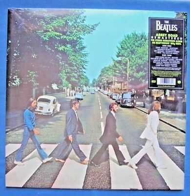THE BEATLES ABBEY ROAD 180g REMASTERED STEREO VINYL LP SEALED MINT UNPLAYED L@@K