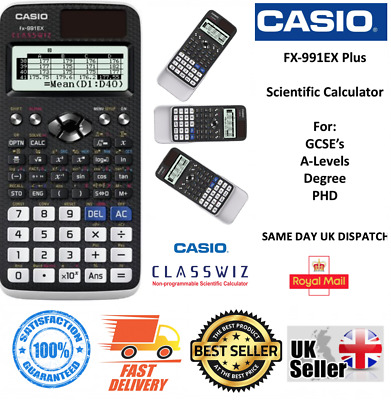 CASIO FX-991EX ClassWiz Advanced Scientific Calculator 552 FUNCTIONS
