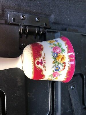 staffordshire bell floral pattern