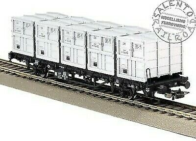 HO Flachwagen Rgs3910 mit 2 Kühlcontainer DR Ep.IV Piko 54836