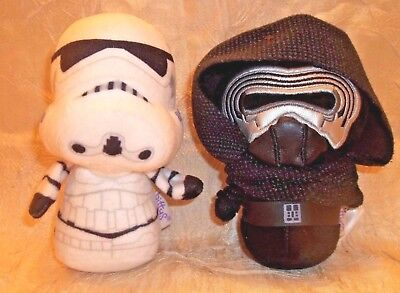Star Wars Hallmark Itty Bittys Kylo Ren & Stormtrooper The Force Awakens