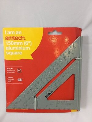 "Speed Square/roofing/rafter Angle Triangle Guide Quick Measure 6""aluminium Alloy"