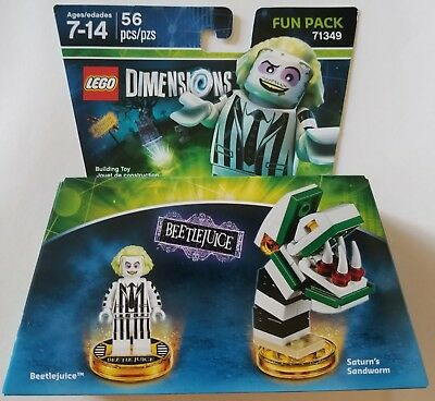 New Lego Dimensions Fun Pack Beetlejuice 71349 Free Worldwide Shipping