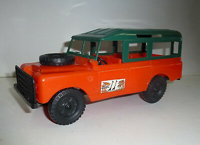 "VERVE made in italy  Land Rover ""Safari"" M=1:18 (Kunststoff) ca.70er Jahre"