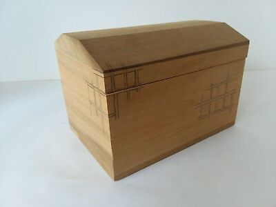 Craft Unfinished Wood Box with Lid
