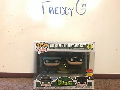 Funko POP! TV The Green Hornet and Kato 2 Pack Toy Tokyo SDCC 2018 Exclusive
