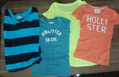 Womens/ Juniors Hollister & American Eagle Tops lot of 4