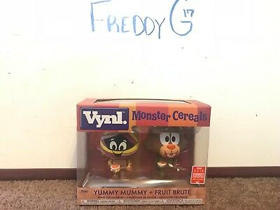 Funko VYNL Monster Cereals 2-Pack: Yummy Mummy & Fruit Brute SDCC 2018