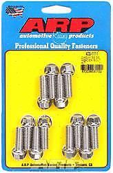 ARP 400-1111 Header Bolts 1 in UHL 3/8-16 in Thread SBC Hex