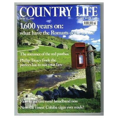 Country Life Magazine May 12 2010 MBox3443/F  1,600 years on: What have the Roma