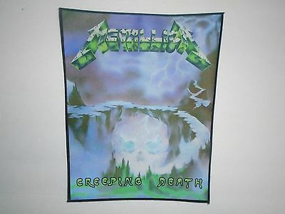 Metallica Creeping Death Sublimated Back Patch