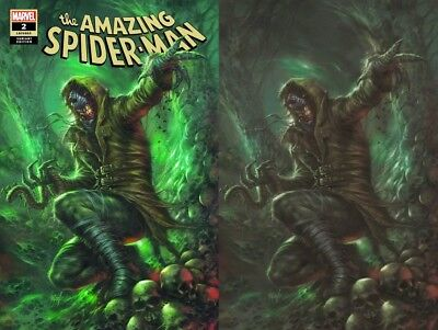 AMAZING SPIDERMAN 2 vol 5 2018 LUCIO PARRILLO VIRGIN VARIANT 2 PACK SET