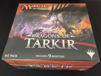 Magic the Gathering Dragons of Tarkir Fatpack - englisch - neu - OVP