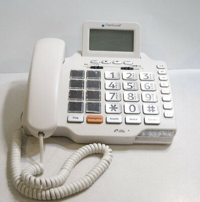 ClearSounds CSC1000 Hearing-Impaired Amplified Freedom Phone Large Photo Buttons