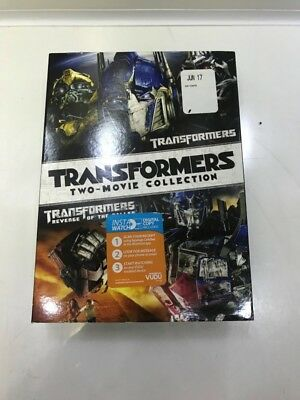 Transformers 1 & 2 Revenge of the Fallen (DVD 2-Movie Set) (LP2068278)
