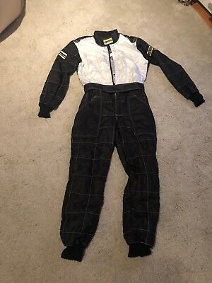 Rennoverall Beltenick® Stratos 3-lagig FIA 8856-2000 Overall suit Schwarz/Silber