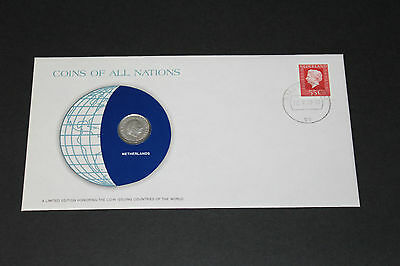 Netherlands Coins Of All Nations 1979 25 Cent Coin Unc