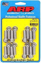 ARP 400-1212 Header Bolts 1.000 in UHL 3/8-16 in Thread Universal 12-Point