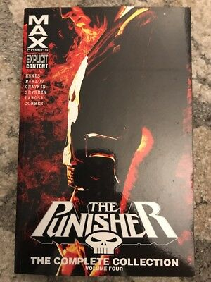 Punisher Max : The Complete Collection Vol. 4 TPB (2016, Paperback)