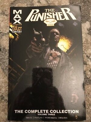 The Punisher: The Complete Collection Vol. 3 TBP Max (2016, Paperback)
