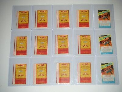 Vintage M-80 Supercharged Firecrackers & Uzi Cracker Bomb LABELS LOT