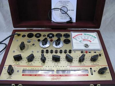 Hickok 800 Mutual Conductance Tube Tester - Calibrated - Specs - New Custom Case