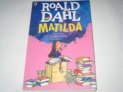MATILDA roald dahl novel BOOK paperback NEW
