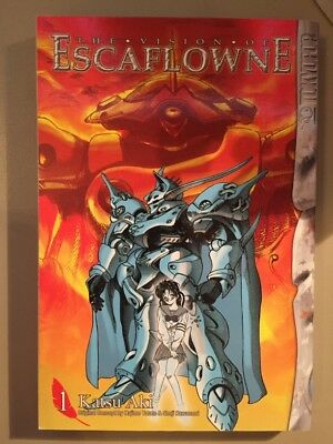 The Vision of Escaflowne Graphic Novel 1 by Katsu Aki, Tokyopop, Manga