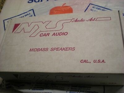 """Brand New In The Box A Pair Of Old School 4.5"""" Midbass Nxs Audio Art Ns45"""