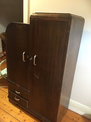 Wardrobe Old With Key Open To Offers
