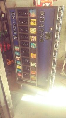 antares soda snack combo vending machine pick up only