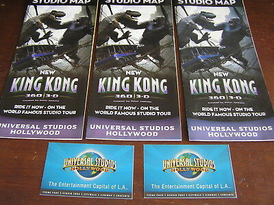 3 usa universal studios hollywood king kong ticket park maps disney
