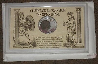 Vintage Genuine Ancient Coin From The Roman Empire UNCIRCULTED>>>JUST KIDDING :)