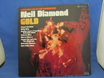 NEIL DIAMOND 70'S Double Lp Double Gold Classic Rock Vintage