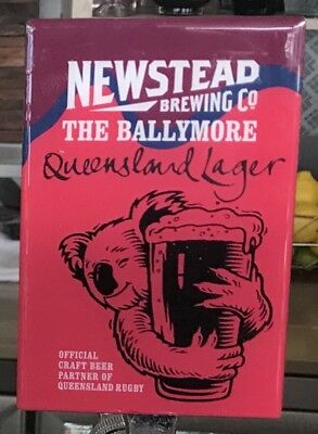 Newstead The Ballymore Lager Decal Label QRU Queensland Rugby Union