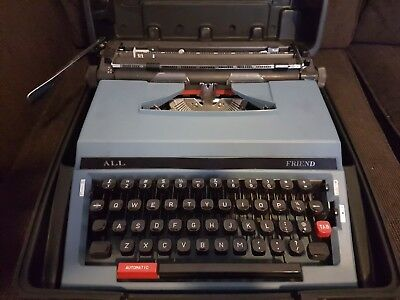 Nakajima All Co Ltd Typewriter Model 800 with case made in Japan