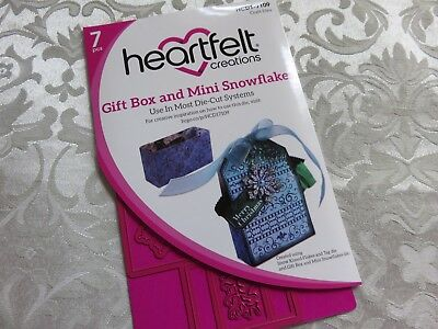 Heartfelt Creations - Snow Kissed Dies & Stamp Collection (3pcs)