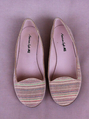 Stylish American Eagle Multi Coloured Ballet Shoes  Size: 9W Near New