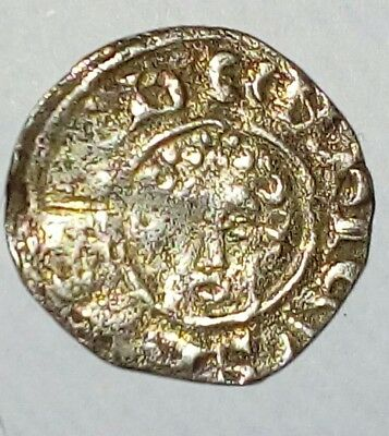 Stunning English Henry 3rd Short Cross Penny  Great Detail Rare Find