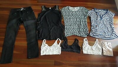 Bulk lot of maternity clothes