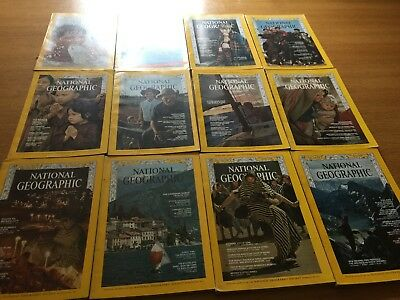 National Geographic - Anno 1968 completo Inglese in English 12 months