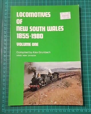 Locomotives of New South Wales 1855-1980  Volume One