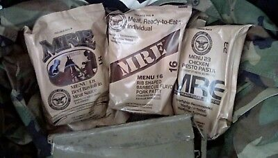 US Army MRE Munitionskiste Prepper Camping Ueberleben dpa meal ready to eat