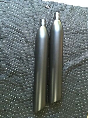 2017 Victory Octane Exhaust Cans Muffler Silencer Pipes Stock Oem 1262883-266